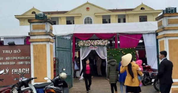 Vụ chiếm trụ sở xã làm tiệc cưới: Có sự thống nhất cao trong thường vụ