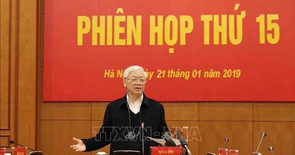 """Tổng Bí thư, Chủ tịch nước Nguyễn Phú Trọng: Xây dựng cơ chế phòng ngừa chặt chẽ để """"không thể tham nhũng"""""""