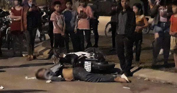 Xe máy tông nhau trực diện trong đêm Valentine, hai thanh niên tử vong