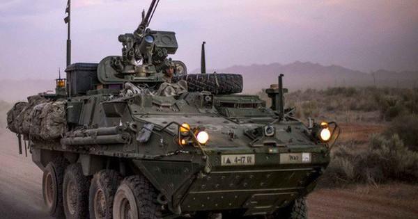 """Mỹ phái """"sát thủ"""" bọc thép Stryker tới châu Âu đối phó Nga"""