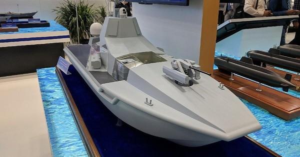 Trung Quốc phát triển tàu chiến không người lái
