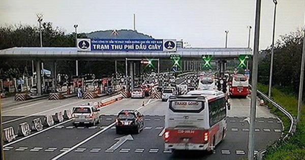 Ngày đầu kiểm tra cao tốc TP HCM – Long Thành – Dầu Giây: Doanh thu toàn tuyến 3,3 tỉ đồng/ngày