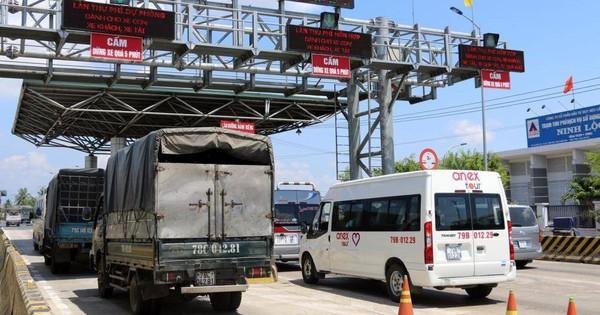 Đoàn liên ngành kiểm tra những gì tại trạm thu phí BOT Ninh Lộc?