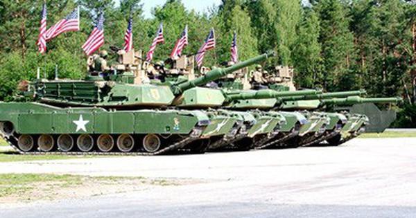Mỹ đầu tư 6 tỷ USD nâng cấp xe tăng chiến đấu M1 Abrams