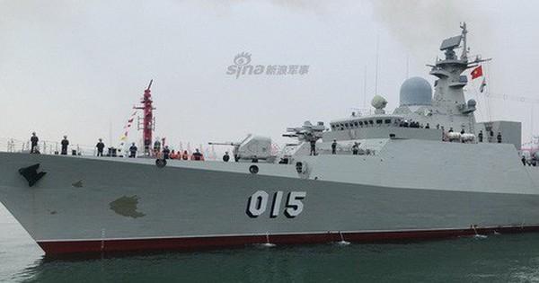 [ẢNH] Gepard 3.9 Việt Nam sánh vai cùng dàn chiến hạm hiện đại tại Trung Quốc