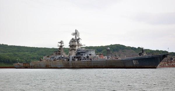 Nga quyết định rã sắt vụn siêu tuần dương hạm lớp Kirov