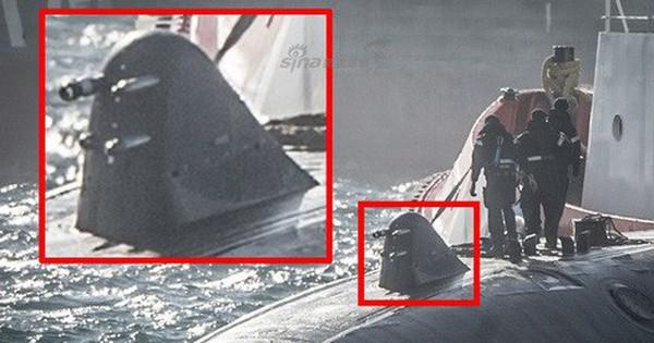"""[ẢNH] Công nghệ bí mật giúp hải quân Anh """"bắt sống"""" tàu ngầm tối tân Nga"""