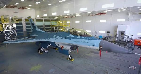 Chuyện lạ mà không lạ: Tiêm kích F-16 Mỹ sơn màu Su- 57 Nga