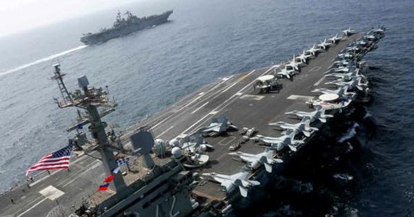 """""""Căng như dây đàn"""" với Iran, nhóm tàu sân bay Mỹ vẫn chưa dám tiến vào vịnh Péc-xích"""