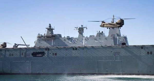 Phi công hải quân Úc bị tấn công bằng tia laser trên Biển Đông