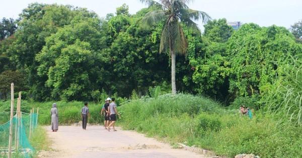 Thi thể người đàn ông đang phân hủy ở công viên TP Thanh Hóa