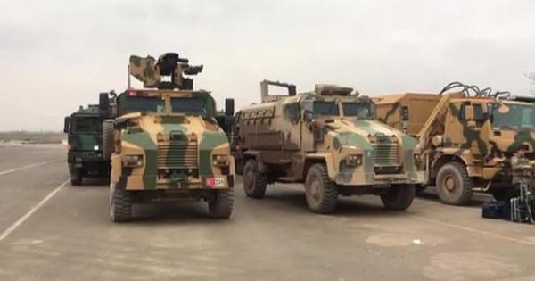 """Thổ Nhĩ Kỳ """"rầm rập"""" điều động dàn phóng tên lửa tới đấu với quân đội Syria"""