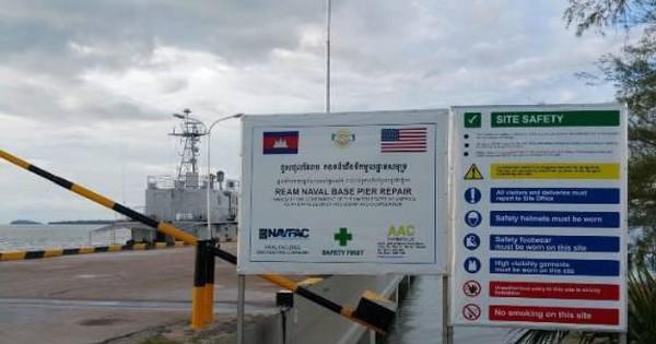 Mỹ lo ngại Trung Quốc hiện diện quân sự tại Campuchia