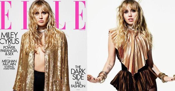 Loạt ảnh trên tạp chí Elle của Miley Cyrus gây bão mạnh: Thần thái đỉnh miễn bàn cũng không hút mắt bằng body đỉnh cao