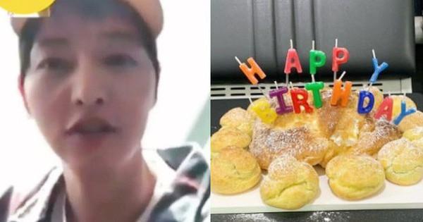 Đón sinh nhật đầu tiên hậu ly hôn, Song Joong Ki khóc, hốc hác đáng báo động