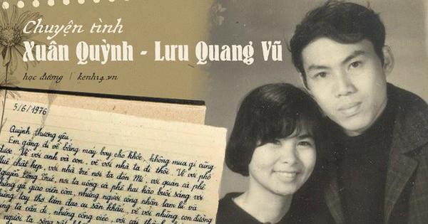 """Chuyện tình đẹp nhưng đầy bi thương của Xuân Quỳnh - Lưu Quang Vũ: """"Cuộc sống ngắn ngủi, con người chỉ đi qua cuộc đời như một vệt sáng rồi biến mất vĩnh viễn"""""""