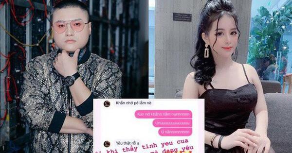 Vũ Duy Khánh bị lộ loạt tin nhắn tình cảm, nghi vấn đang hẹn hò với một hotgirl kém hơn 10 tuổi hậu ly hôn