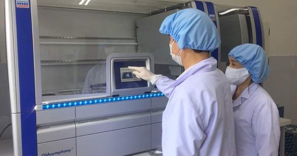 Quảng Nam chưa thể công bố kết quả thanh tra việc mua máy xét nghiệm giá 7,23 tỉ