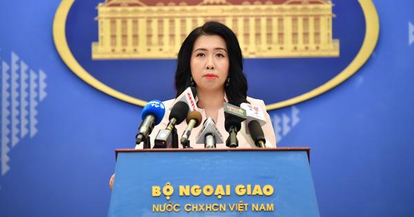Việt Nam lên tiếng trước thông tin Lào xây dựng đập thủy điện trên dòng chính sông Mekong