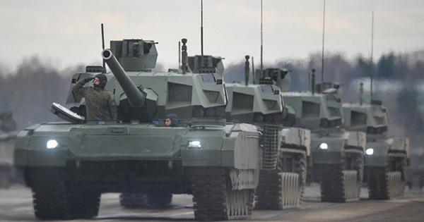 """Lộ lý do Nga liều lĩnh tung xe tăng T-14 Armata tới Syria: Thành công hoặc """"đắp chiếu""""?"""