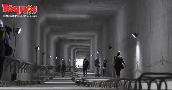 Toàn cảnh nhà ga Metro Ba Son, TP HCM sắp được hoàn thành
