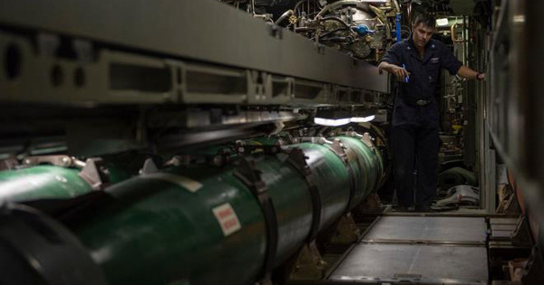 Bộ Ngoại giao Mỹ thông qua thỏa thuận bán 18 ngư lôi hạng nặng cho Đài Loan