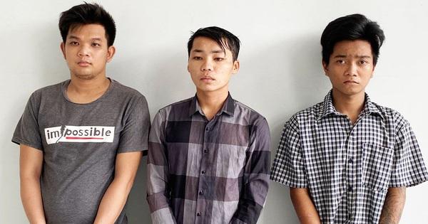 Bắt giữ 3 thanh niên 9X hiếp dâm phụ nữ, cướp tài sản ở Long An