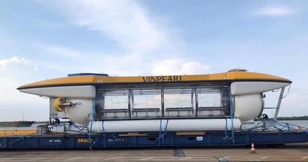 Tàu ngầm ông Phạm Nhật Vượng đặt mua đã cập bến Nha Trang?