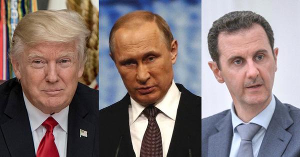 Chiến sự Syria: Lợi dụng thế khó của TT Putin-Assad, chiêu trò hiểm của Mỹ có phá tan quan hệ nồng ấm?