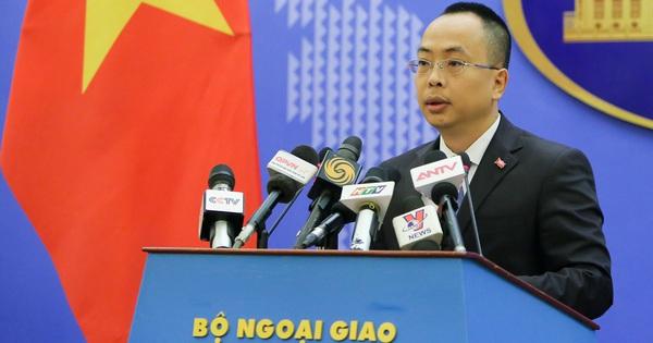 Bộ Ngoại giao trả lời thông tin Mỹ sắp bàn giao tàu tuần tra cỡ lớn cho Việt Nam