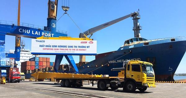 Việt Nam xuất khẩu Sơmi Rơmoóc vào thị trường Mỹ