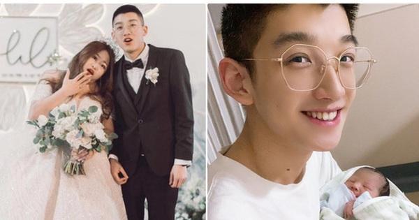 """Cặp đôi """"đũa lệch"""" nổi tiếng nhất Trung Quốc đón con đầu lòng, vừa xem ảnh đã biết đây sẽ là hot boy tương lai"""