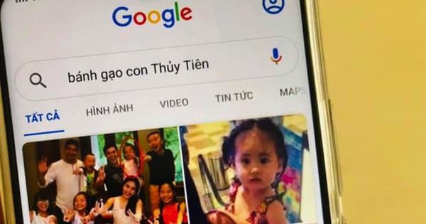 Con gái Bánh Gạo khiến Công Vinh – Thuỷ Tiên cười ngất vì tự tìm chính mình trên Google
