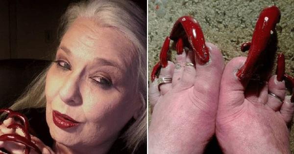 Nuôi móng chân cho vui ai ngờ được mọi người yêu thích, người phụ nữ hái ra tiền nhờ bộ móng siêu dài siêu dị