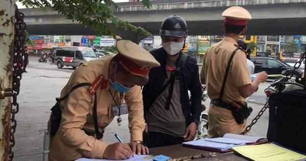 Hàng chục lái xe vi phạm nồng độ cồn, tốc độ đã bị xử nghiêm