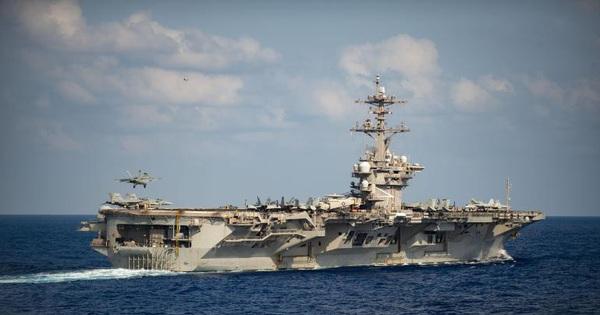 Thêm 8 ca tái dương tính: 'Ác mộng' COVID-19 đeo bám tàu sân bay USS Theodore Roosevelt