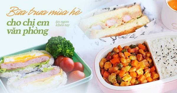 Mùa hè nóng nực ngại ra ngoài, đây là các thực đơn bữa trưa dễ làm cho chị em công sở mang đi ăn