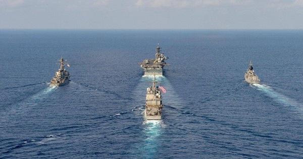 Úc cảnh báo hành vi bắt nạt ở biển Đông
