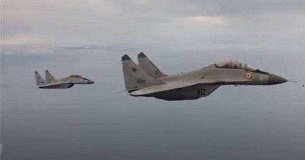 MiG-29K có thể được Ấn Độ sử dụng ở biên giới với Trung Quốc và Pakistan