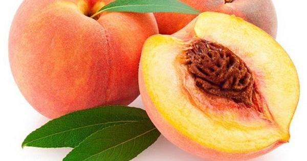 Món ăn thuốc từ quả đào