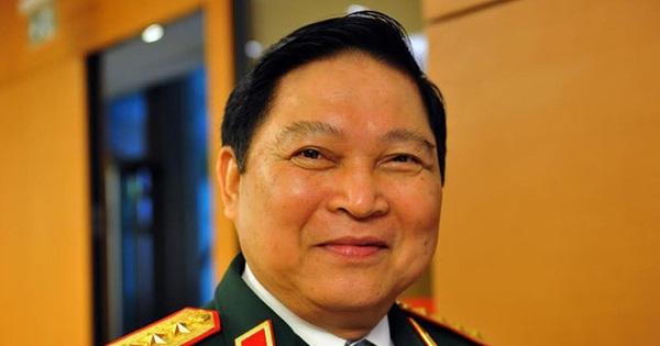 Đại tướng Ngô Xuân Lịch trình Luật Biên phòng trước Quốc hội