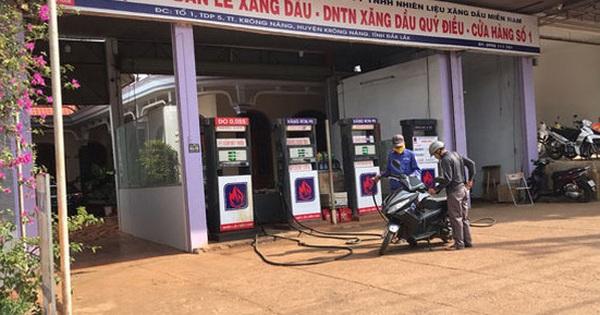 Doanh nghiệp bán lẻ xăng dầu lo lỗ nặng