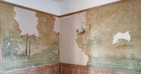 Định sửa lại nhà cho mới, cặp vợ chồng phát hiện bí mật ẩn giấu suốt 70 năm dưới lớp giấy dán tường