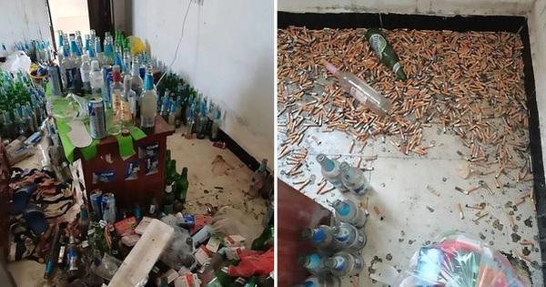 Thanh niên thất nghiệp nợ tiền trọ mãi không trả, chủ nhà đến nơi hoảng hồn khi thấy phòng ngập ngụa rác đến mức không có cả lối đi