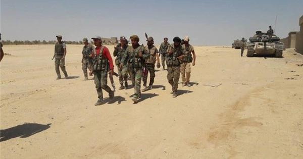Clip quân đội Syria khai màn hoạt động bảo vệ các giếng dầu