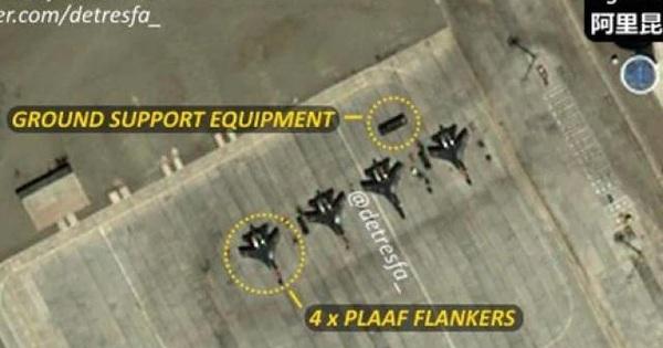 Hoạt động bất thường của TQ ở sân bay quân sự gần nơi binh sĩ Trung-Ấn ẩu đả