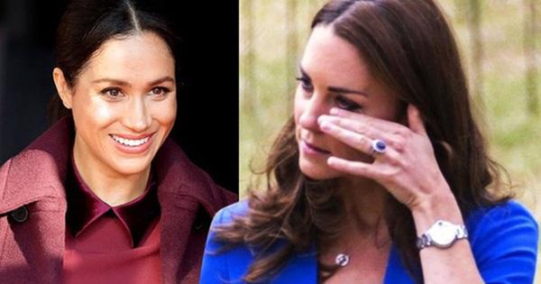 Công nương Kate từng rơi nước mắt vì em dâu Meghan trong hôn lễ hoàng gia chỉ vì chiếc quần tất