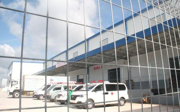 Bệnh viện dã chiến lớn nhất Bình Dương đóng cửa vào cuối tháng 10