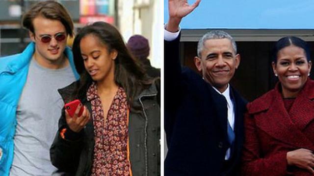 Vợ chồng cựu Tổng thống Obama từng phải đích thân viết thư xin lỗi người yêu của con gái lớn và phản ứng của 'nhà trai' sau đó