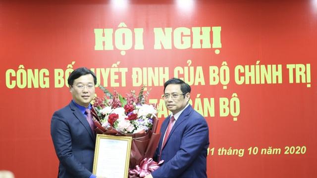 Bộ Chính trị giới thiệu anh Lê Quốc Phong để bầu làm Bí thư Tỉnh ủy Đồng Tháp
